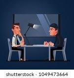 bad policeman officer cop... | Shutterstock .eps vector #1049473664