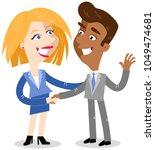 vector illustration of two...   Shutterstock .eps vector #1049474681