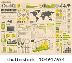 info graphics set  vector... | Shutterstock .eps vector #104947694