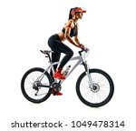 active life. sporty woman... | Shutterstock . vector #1049478314