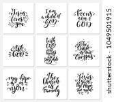 vector set of religions... | Shutterstock .eps vector #1049501915