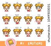 cartoon visual dictionary for... | Shutterstock .eps vector #1049503031