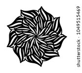 mandalas for coloring book.... | Shutterstock .eps vector #1049515469