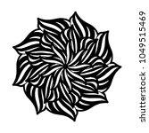 mandalas for coloring book.... | Shutterstock .eps vector #1049515469
