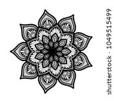 mandalas for coloring book.... | Shutterstock .eps vector #1049515499