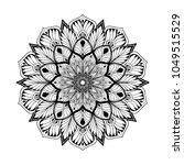 mandalas for coloring book....   Shutterstock .eps vector #1049515529