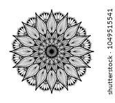 mandalas for coloring book....   Shutterstock .eps vector #1049515541