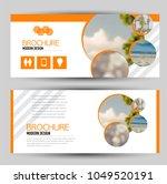 flyer banner or web header... | Shutterstock .eps vector #1049520191