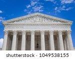 us supreme court building...   Shutterstock . vector #1049538155