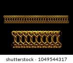 golden  ornamental segment  ... | Shutterstock . vector #1049544317