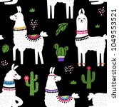 funny children's textile...   Shutterstock .eps vector #1049553521