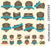 vector collection of premium... | Shutterstock .eps vector #104955569
