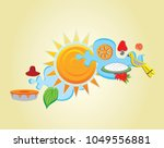 the dawn of the sinhala   tamil ...   Shutterstock .eps vector #1049556881