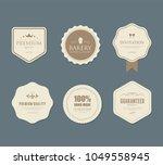 set of vintage labels old... | Shutterstock .eps vector #1049558945