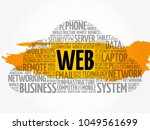 web word cloud collage ...   Shutterstock .eps vector #1049561699