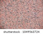 red granite texture with... | Shutterstock . vector #1049563724