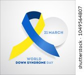 world down syndrome day. event... | Shutterstock .eps vector #1049564807