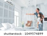 air conditioning. positive... | Shutterstock . vector #1049574899