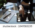 target audience. targeting.... | Shutterstock . vector #1049583155