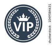 vip label on white background ... | Shutterstock .eps vector #1049584631