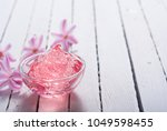 anti aging gel and hyacinth... | Shutterstock . vector #1049598455