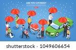 insurance services design... | Shutterstock .eps vector #1049606654