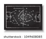 soccer cup formation and tactic ... | Shutterstock .eps vector #1049608085