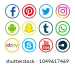 valencia  spain   january 10 ...   Shutterstock . vector #1049617469