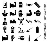 arm icons. set of 25 editable...   Shutterstock .eps vector #1049624285