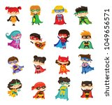 cartoon vector characters of... | Shutterstock .eps vector #1049656571