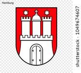 emblem of hamburg. city of... | Shutterstock .eps vector #1049674607