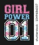 Vector Female Poster Girl Power ...