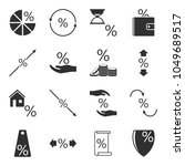 set of icons associated with... | Shutterstock .eps vector #1049689517