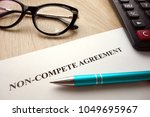 Non Compete Agreement Document...