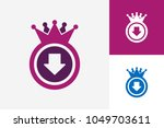 download king logo template... | Shutterstock .eps vector #1049703611