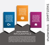 infographic template. vector... | Shutterstock .eps vector #1049710541