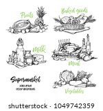 hand drawn vector illustration. ...   Shutterstock .eps vector #1049742359