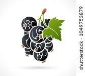 decorative ornamental black...   Shutterstock .eps vector #1049753879