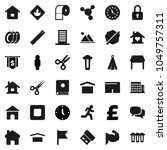 flat vector icon set   splotch... | Shutterstock .eps vector #1049757311