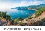 exciting mediterranean seascape ... | Shutterstock . vector #1049776181