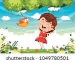 vector illustration of cartoon... | Shutterstock .eps vector #1049780501