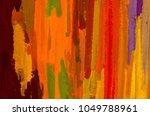 oil painting on canvas handmade.... | Shutterstock . vector #1049788961