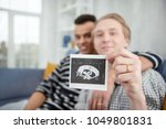 our baby. selective focus of... | Shutterstock . vector #1049801831