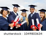 education  graduation and... | Shutterstock . vector #1049803634