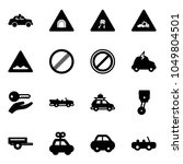 solid vector icon set   safety...   Shutterstock .eps vector #1049804501