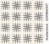 cross hatch seamless pattern.... | Shutterstock . vector #1049806547