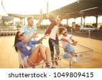 group of happy young people...   Shutterstock . vector #1049809415