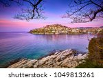 incredibly romantic sunny... | Shutterstock . vector #1049813261