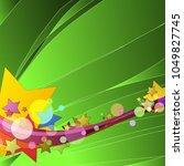 spring green nature summer... | Shutterstock .eps vector #1049827745