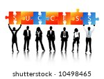 business people | Shutterstock .eps vector #10498465